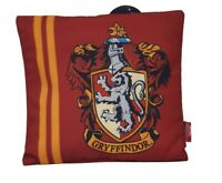 Harry Potter Gryffindor Cushion Hogwarts Travel Crest Pillow 35 X 32cm Primark