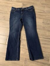 Chico's So Slimming jeans denim size 2 (12 Large)