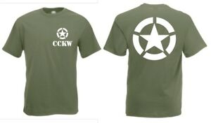 US Army GMC CCKW T-Shirt US Car Off-Road Oldtimer Vietnam USMC Navy Gr S-XXL WK2