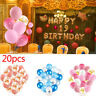 "20pcs 12"" Confetti Latex Balloons Helium Party Wedding Baby Shower Large"
