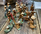 NICE LOT OF MANOIL, BARCLAY, LEAD TOY SOLDIERS, MILITARY,1930's, 1940's