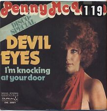 """PENNY McLEAN - Devil eyes - VINYL 7"""" 45 ITALY 1976 VG+ COVER VG- CONDITION"""