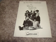 FRESH PRINCE OF BEL AIR Emmy ad Will Smith & CONSENTING ADULTS Kevin Kline