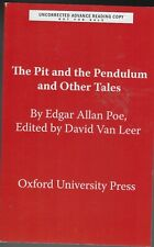THE PIT AND THE PENDULUM AND OTHER TALES BY EDGAR ALLAN POE (2019) ARC SOFTCOVER