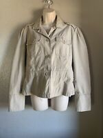 Women's American Eagle Outfitters Lightweight Jacket, Khaki, Large