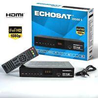 Echosat 20500 S FULLHD SAT RECEIVER HDMI USB HDTV DIGITAL SATELLITE SCART USB HD