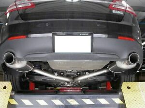 """STAINLESS WORKS 2010-2018 FORD TAURUS SHO TURBO ECOBOOST 2.5"""" CATBACK EXHAUST"""
