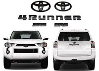 For 2014-2019 TOYOTA 4RUNNER SR5 MATTE BLACK OUT  EMBLEM KIT Replacement