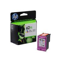 HP 62XL Cyan/Magenta/Yellow High Yield Ink Cartridge C2P07AE [HPC2P07AE]