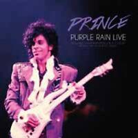 PURPLE RAIN LIVE  by PRINCE coloured  Vinyl Double Album  PARA273LP rare live