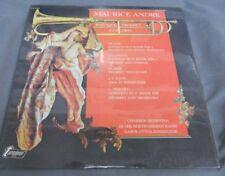 GABOR OTVOS / MAURICE ANDREE -BAROQUE TRUMPET CONCERT- 1973 USA LP STILL SEALED