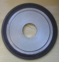 Diamond wheel Resin bond 14EE1  125-90 L100//80 micr 2-sided conical profile.