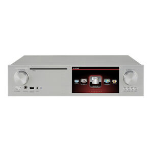 CocktailAudio X35 silber All-in-One HD HiFi-System ohne Festplatte