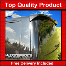 VW T5 TRANSPORTER REAR TAILGATE SPOILER SPORTLINE STYLE PU NOT CHEAP FIBREGLASS
