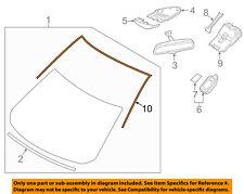 KB7W50601A Mazda Mouldwindowfront KB7W50601A