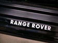 (2pcs) RANGE ROVER doorstep badge decal LAND ROVER