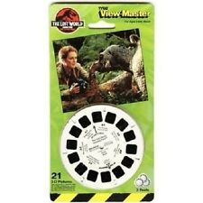 TYCO VIEW-MASTER THE LOST WORLD JURASSIC PARK 3-D PICTURE REEL PACK *1997* NEW
