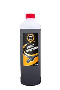 Brunissage 250 ml appliqué en peignant et en immergeant - Bronzage rapide noir