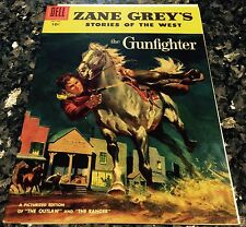 ZANE GREY'S STORIES OF THE WEST#28, THE GUNFIGHTER  (DELL 1958) NM 9.4