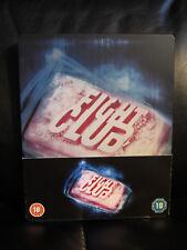 Fight Club Blu-Ray Steelbook [UK] Action Drama Region Free w/j-card