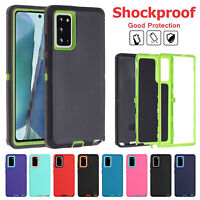 For Samsung S21 Ultra Note 20 S20 Plus Shockproof TPU Rugged Hybrid Cover Case