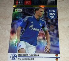 CARD ADRENALYN FIFA 365 CALCIATORI PANINI SHALKE 04 HOWEDES CALCIO