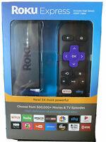Roku Express HD Streaming Media Streamer - Black