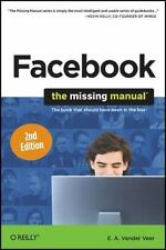 Facebook: The Missing Manual, Veer, E. A. Vander, 144938014X, Book, Acceptable