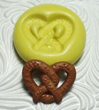 PRETZEL MOLD Silicone Resin Polymer Clay Fondant Flexible Push Mould