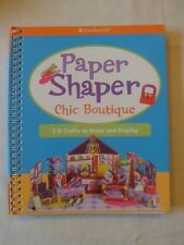 AMERICAN GIRL Paper Shaper Chic Boutique Activity Book Craft NEW GIFT Christmas
