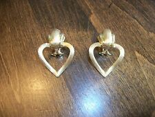 Large Henry Dunay Solid 18k Gold Earrings  $4,875 retail