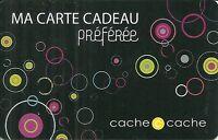 RARE / CARTE CADEAU - CACHE CACHE / VETEMENT FEMME FEMININ MODE PRET A PORTER
