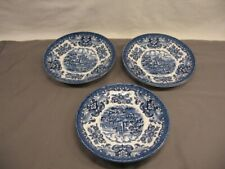Lot of 3 Olde Country Castles Hostess Tableware Saucers England VGC