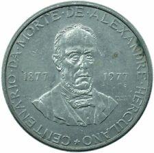 COIN / PORTUGAL / 5 ESCUDOS 1977 ALEXANDRE HERCULANO     #WT29681