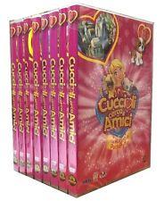 8 Dvd + Gadget Lotto Stock CUCCIOLI CERCA AMICI ♥ NEL REGNO DI POCKETVILLE nuovo