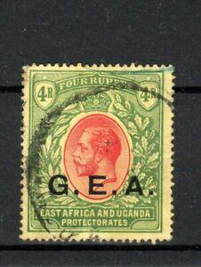 Tanganyika 1917-21 4r GEA opt FU CDS