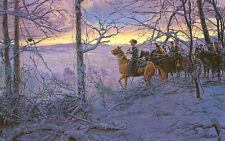 Mort Kunstler While the Enemy Rests Limited Edition Civil War Print S/N