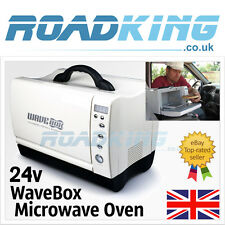 24v Wavebox Microwave   24 Volt 660 Watts 7 Litre Micro Wave for Trucks & Boats