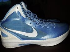 Nike 2011 Hyperdunk Zoom size13.5 Basketball mens shoes LIGHT BLUE & WHITE (RARE