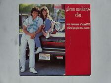 45 tours GLENN MEDEIROS en duo avec ELSA Un roman d'amitié 870529-7