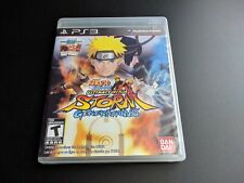 Naruto Shippuden Ultimate Ninja Storm Generations PS3 LN perfect w new card!
