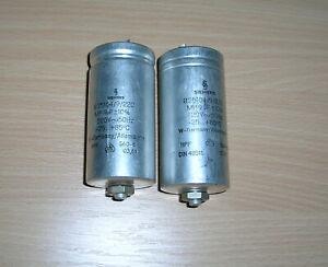 Siemens MP-Kondensatoren für  Wechselspannung 2 Stück