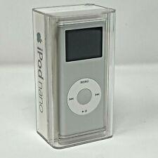 SIGILLATO Apple iPod Nano 2nd Gen - 2GB - Silver - MA477ZP/A - A1199 (EMC 2115)