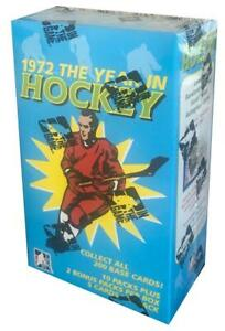 (HCW) 2009-10 In The Game 1972 Hockey Sealed Box - 12 Packs Per Box