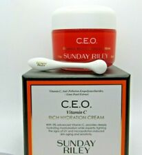 Sunday Riley CEO Vitamin C Rich Hydration Cream Full Size New In Box 1.7oz/50g
