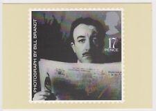 (K81-40) 1985 GB 17p Bill Brandt postcard (AN)