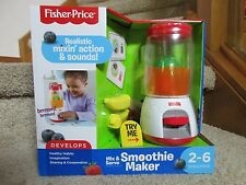 Fisher Price Pretend Play  Mix & Serve Smoothie Maker Healthy Habits Recipe Card