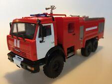 1:43 AutoHistory 102026 KAMAZ 43118 Fire Engine AC-5-40