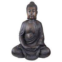 Meditative Buddha Of The Grand Temple Design Toscano Outdoor Garden Statue