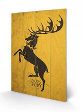 Game of Thrones Holzdruck Baratheon 40 x 60 cm NEU & OVP
